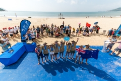 Team Australia - Team Gold Medalist. PHOTO: ISA / Sean Evans