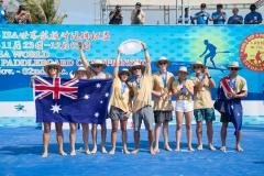 Team Australia - Team Gold Medalist. PHOTO: ISA / Pablo Jimenez