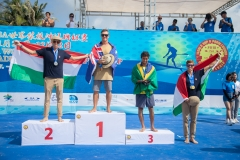 Podium SUP Distance Men. PHOTO: ISA / Pablo Jimenez