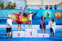 Podium Surf SUP Women. PHOTO: ISA / Pablo Jimenez