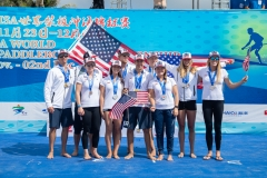 Team USA - Team Silver Medalist. PHOTO: ISA / Pablo Jimenez