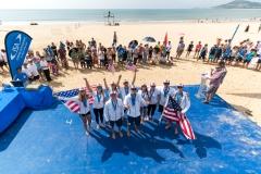 Team USA -  Team Silver Medalist. PHOTO: ISA / Sean Evans
