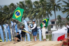 BRA - Team Flags. PHOTO: ISA / Pablo Jimenez