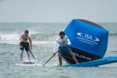 NZL - Trevor Tunnington Usa Tyler Bashor. PHOTO: ISA / Sean Evans