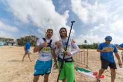 ITA - Claudio Nika - BRA - Arthur Carvalho. PHOTO: ISA / Sean Evans
