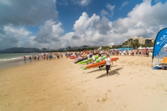 Womens Paddle Start. PHOTO: ISA / Sean Evans