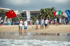 CHN - Team Flags. PHOTO: ISA / Pablo Jimenez