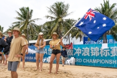 Team Australia. PHOTO: ISA / Sean Evans