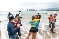 AUS - Shakira Westdorp  & ESP - Iballa Ruano Moreno. PHOTO: ISA / Sean Evans