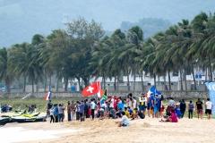 Teams Flagas Fra Alexis Daniel. PHOTO: ISA / Pablo Jimenez