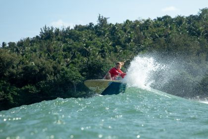 SUP Surfing's Elite Shine in Wanning, China