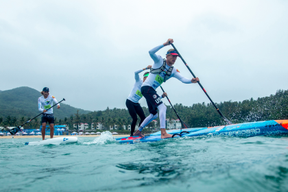SUP Technical Races Spark Action-Packed Day in Riyue Bay