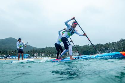 Vuelve la Acción a Riyue Bay con las Carreras Técnicas SUP