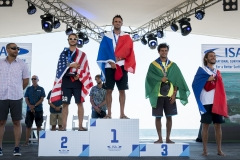 Mens Sup Technical Race Podium. PHOTO: ISA / Ben Reed