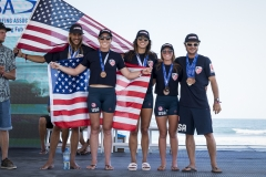 USA - Team Bronze Medalist. PHOTO: ISA / Ben Reed