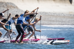 Junior Boys SUP Tech Race Final. PHOTO: ISA / Ben Reed
