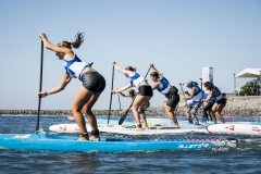 Junior Girls Technical SUP Final. PHOTO: ISA / Ben Reed