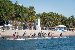Men's SUP Technical Race Final. PHOTO: ISA / Sean Evans