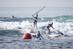 Women's SUP Technical Race. PHOTO: ISA / Ben Reed