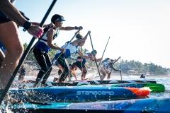 Women's SUP Technical Race. PHOTO: ISA / Sean Evans