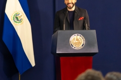 President Nayib Bukele. PHOTO: ISA / Sean Evans