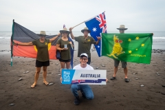 Team Australia. PHOTO: ISA / Sean Evans