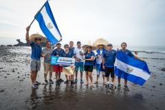 Team El Salvador. PHOTO: ISA / Sean Evans