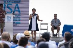Minister of Tourism Morena Valdez. PHOTO: ISA / Ben Reed