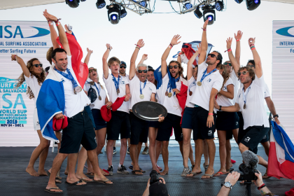 France Rides Dual SUP Surfing Golds to Historic Team World Title