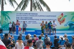 Bronze Medalists Team Brazil. PHOTO: ISA / Sean Evans