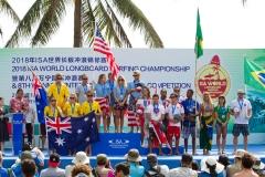 ISA Aloha Cup Winners. PHOTO: ISA / Tim Hain