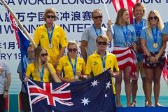 Team Australia. PHOTO: ISA / Tim Hain