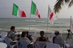 Italy Flags Spectators. PHOTO: ISA / Tim Hain