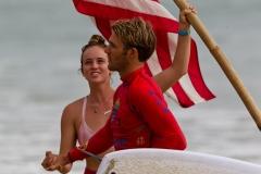 USA - Team Spirit. PHOTO: ISA / Tim Hain