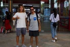 URU - Julian Schweizer and Mateo Rojas. PHOTO: ISA / Tim Hain