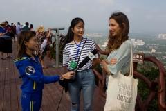 Dongshan Interview GER -Mascha Trietsch. PHOTO: ISA / Tim Hain