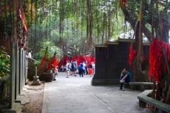Dongshan Temple Courtyard. PHOTO: ISA / Tim Hain