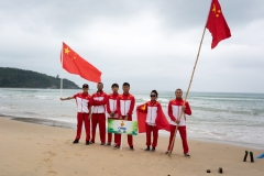 Team China. PHOTO: ISA / Sean Evans