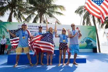 Team USA Rides Three-Medal Performance to Claim Historic Victory at the 2018 ISA World Longboard Surfing Championship