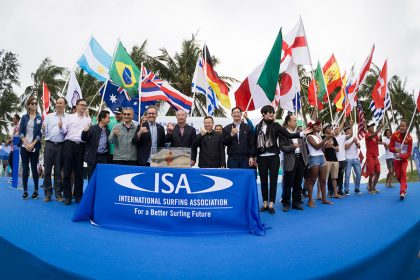 Record-breaking Edition of ISA World Longboard Surfing Championship Inaugurated in Wanning, China