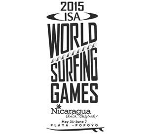 2015 ISA World Surfing Games LOGO