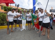 Team Portugal with ISA President Fernando Aguerre. PHOTO: ISA / Reed