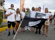 Team New Zealand with ISA President Fernando Aguerre. PHOTO: ISA / Reed