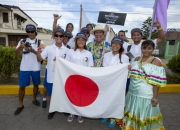 Team Japan with ISA President Fernando Aguerre. PHOTO: ISA / Reed