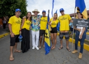 Team Brazil with ISA President Fernando Aguerre. PHOTO: ISA / Reed