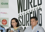 Minister of Tourism Mayra Salinas, Wilfredo Lopez, Rivas´s Mayor. PHOTO: ISA / Reed