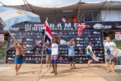 Teams Celebrating , Team USA Gold Medalist of the ISA Aloha Cup. PHOTO: ISA / Jimenez