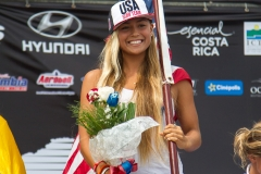 USA - Tia Blanco Podium. PHOTO: ISA / Jimenez