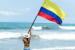 Colombia Flag. PHOTO: ISA / Jimenez