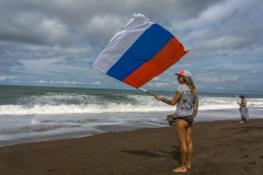 Russia Flag. PHOTO: ISA / Evans